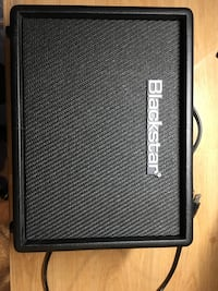 Black and gray crate guitar amplifier 559 km