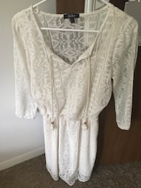 Off white lace dress Cleves, 45002