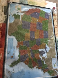 MAP, not a rug, laminated, never used Tampa, 33611