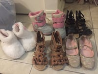 Toddler size 5 lot shoes  Brampton, L6R