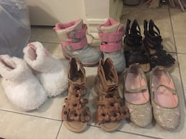 Toddler size 5 lot shoes