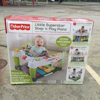 Fisher-Price little superstar step 'n play piano box Gulfport, 39507