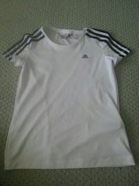 Black and white gym shirt by Adidas Rothesay, E2E 2G9
