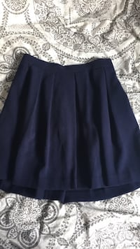 Navy blue pleated skirt Lincoln, L0R