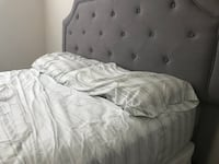white and gray bed sheet Gaithersburg, 20879