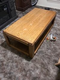 rectangular brown wooden coffee table Albuquerque, 87121