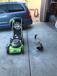 Lawn mower and weed wacker