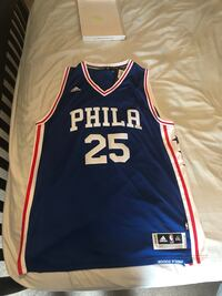 NEW Ben Simmons Adidas Style Jersey