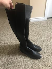 Black Cole Haan Dutchess Boots
