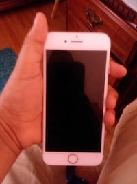 white iPhone 5 with red case Wake Forest