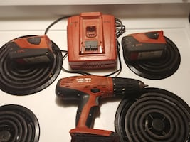 Hilti drill n battery charger