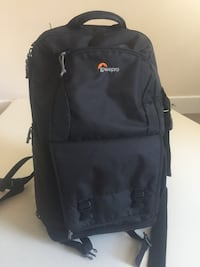Black Lowepro backpack
