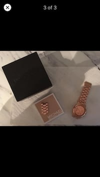 Rose Gold Michael Kors Ladies Watch Surrey, V4A