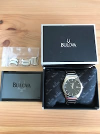 Bulova Classic Men's Black Dial Water Resistant Watch Occoquan, 22192
