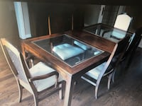 Art shoppe dining table chairs and hutch  Richmond Hill, L4C 0J9