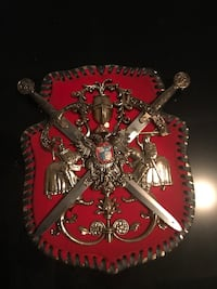 Vintage 1 of a kind unique sword and crest Edmonton