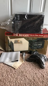 Brand new still in package vintage Ambico Imager. photo to video transfer system model V – 0617   Make offer any reasonable offer will be accepted Norfolk, 23523
