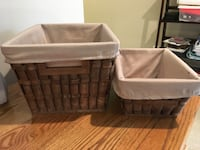 Large storage baskets Bristow, 20136