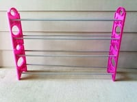Pink shoe rack Shreveport