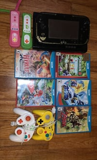 WiiU Special Edition, 5games, 2controllers, 2GameCube controllers Vancouver, V5X 4G8