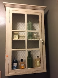 Wall mounted decorative cabinet