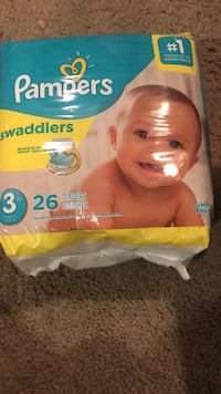 pampers size  3