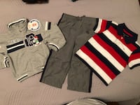 New Jacket, OshKosh Track Pants, Designer Shirt Size 24 months/2T $6 for all Toronto, M9C 4W1