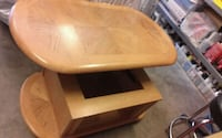 brown wooden table with chair Aurora, 80012