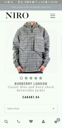 Burberry reversible jacket  Windsor, N9A 5G8