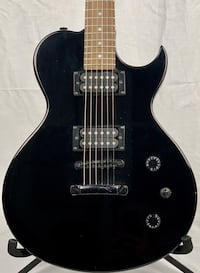 Brownsville New York  Black (Les Paul style) Electric Guitar
