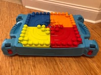 Mega Blocks builders table and blocks set - slightly used and no boxes Edgewater, 07020