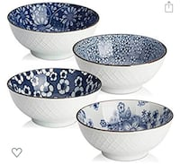 Dowan ceramics bowls set of 4  Ardmore, 19003