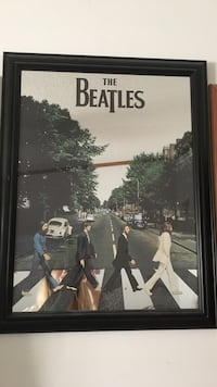 The beatles mirror picture & frame. Need gone ASAP