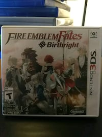 Fire emblem birthright Nintendo 3ds negotiable Vaughan, L4J 0B7