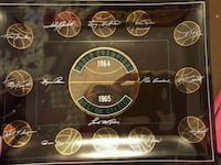 Boston Celtics 1964 world  championship  Oneonta, 13820