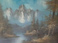 painting of river near river Branson, 65616