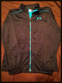 Black and turquoise under Armour jacket