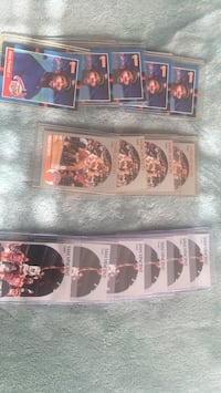 Sports cards.