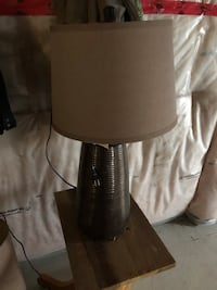 2 identical bronze and brown lamps Springwater, L4M 6R1