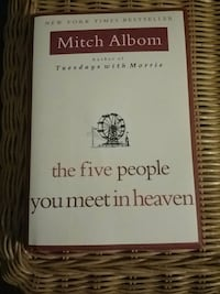 Book, The Five People You Meet In Heaven Kingsport