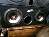 "10"" Rockford fosgate in ground shaker box  Grants Pass, 97527"