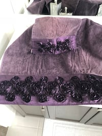 women's purple and black floral skirt Vaughan, L0J 4H8