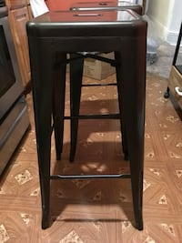 Galvanized 30 inch bar stools a set of 2  New York, 11418