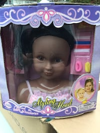purple and pink Barbie doll in box Wantagh, 11793