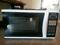 white and black microwave oven Montréal, H4E 1G7