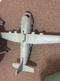 Large toy plane with storage