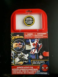 Spiderman Magnetic Activity Board  Toronto, M1M 1T7