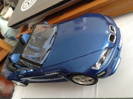 Collectible Italy made BMW diecast metal car model