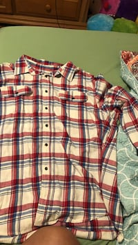 Red, white and blue  flannel(size 2x) Knoxville, 37914