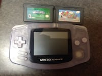 Gameboy advance with two games Winnipeg